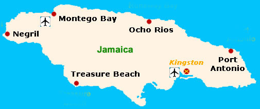 Maps of Jamaica JAMAICA ONESTOP